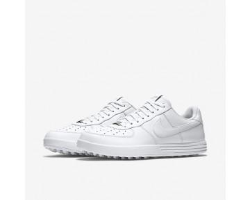 Chaussure Nike Lunar Force 1 G Pour Homme Golf Blanc/Blanc/Blanc_NO. 818726-100