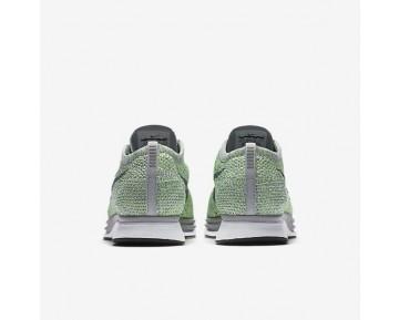 Chaussure Nike Flyknit Racer Pour Femme Lifestyle Vert Ombre/Gris Loup/Frappé/Gris Froid_NO. 526628-103