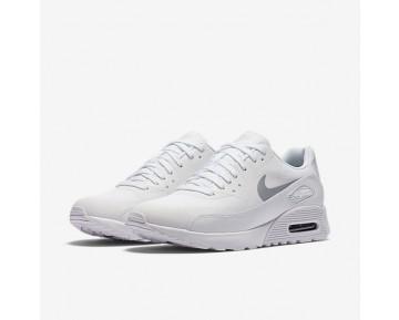 Chaussure Nike Air Max 90 Ultra 2.0 Pour Femme Lifestyle Blanc/Blanc/Noir/Platine Métallisé_NO. 881106-101