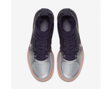 Chaussure Nike Court Flare Pour Femme Tennis Violet Dynastie/Mangue Brillant/Argent Métallique/Or Rose Métallique_NO. 810964-500