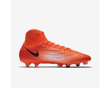 Chaussure Nike Magista Orden Ii Fg Pour Homme Football Cramoisi Total/Rouge Université/Mangue Brillant/Noir_NO. 843812-806
