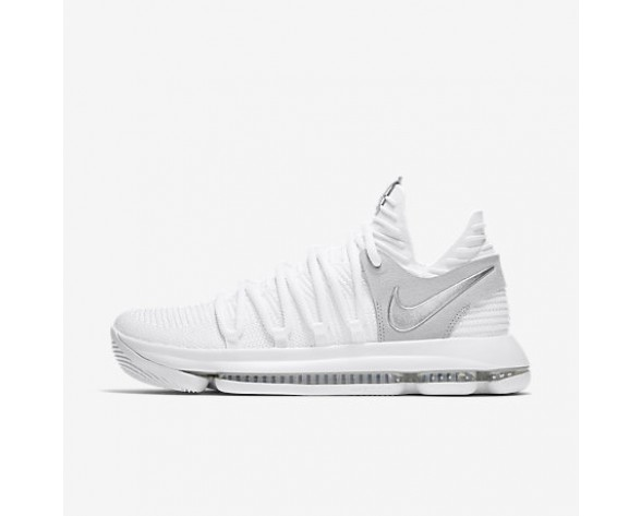 huge selection of c5ec9 51720 Chaussure Nike Zoom Kdx Pour Homme Basketball Blanc Platine Pur Chrome NO.  897815-100
