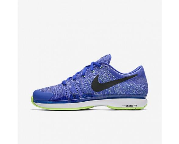 huge selection of 5ea74 07206 Chaussure Nike Court Zoom Vapor Flyknit Hard Court Qs Pour Homme Tennis Leu  Souverain Vert Ombre Blanc Noir NO. 916834-403