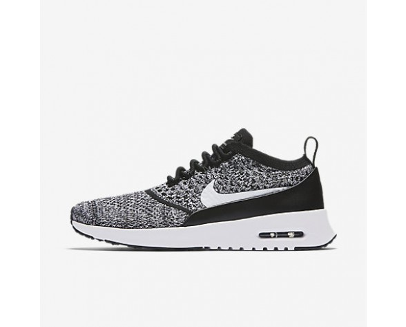 detailed look 3ad6f cb71c Chaussure Nike Air Max Thea Ultra Flyknit Pour Femme Lifestyle Noir Blanc NO.  881175-001