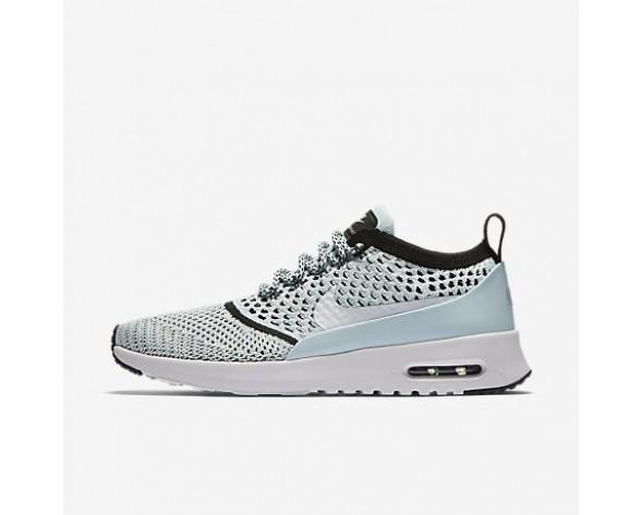Chaussure Nike Air Max Thea Ultra Flyknit Pour Femme Lifestyle Bleu Glacier/Noir/Blanc_NO. 881175-400
