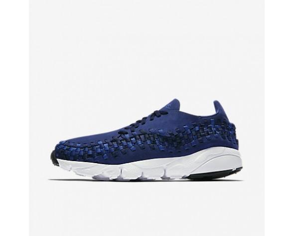 Chaussure Nike Air Footscape Woven Nm Pour Homme Lifestyle Bleu Binaire/Noir/Royal Équipe_NO. 875797-400