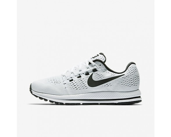 Chaussure Nike Air Zoom Vomero 12 Pour Homme Running Blanc/Platine Pur/Noir_NO. 863762-100