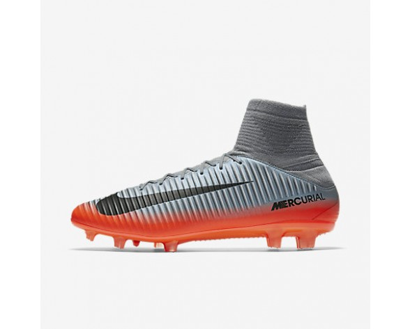Chaussure Nike Mercurial Veloce Iii Dynamic Fit Cr7 Fg Pour Homme Football Gris Froid/Gris Loup/Cramoisi Total/Hématite Métallique_NO. 852518-001