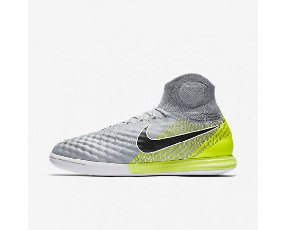 Chaussure Nike Magistax Proximo Ii Ic Pour Homme Football Gris Loup/Gris Froid/Platine Pur/Noir_NO. 843957-004