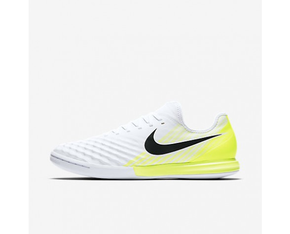 Chaussure Nike Magistax Finale Ii Ic Pour Homme Football Blanc/Volt/Noir_NO. 844444-107