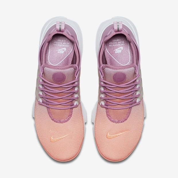separation shoes efff7 2361f Chaussure Nike Air Presto Ultra Breathe Pour Femme Lifestyle Crépuscule  Brillant Orchidée Bleu Glacier Blanc NO. 896277-800