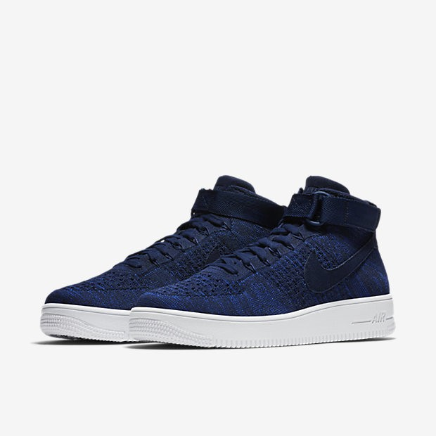 Bleu 1 Flyknit Pour Air Nike Homme Chaussure Ultra Lifestyle Force cL5Ajq43R