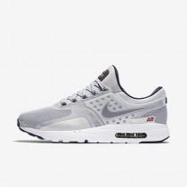 Chaussure Nike Air Max Zero Pour Homme Lifestyle Argent Métallique/Rouge Université/Noir/Argent Métallique_NO. 789695-002