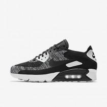 Chaussure Nike Air Max 90 Ultra 2.0 Flyknit Pour Homme Lifestyle Noir/Blanc/Noir_NO. 875943-001