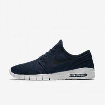 Chaussure Nike Sb Stefan Janoski Max Pour Homme Skateboard Obsidienne/Platine Pur/Noir_NO. 631303-404
