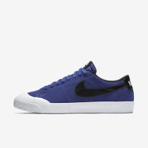 Chaussure Nike Sb Blazer Low Xt Pour Homme Skateboard Nuit Profonde/Blanc/Gomme Marron Clair/Noir_NO. 864348-501