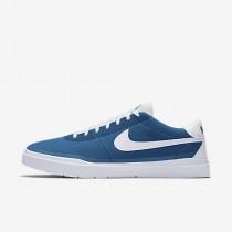 Chaussure Nike Sb Bruin Hyperfeel Canvas Pour Homme Skateboard Bleu Industriel/Blanc/Blanc/Blanc_NO. 883680-411