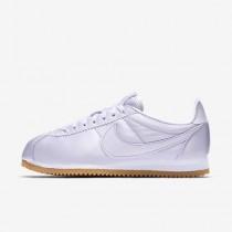 Chaussure Nike Classic Cortez Qs Pour Femme Lifestyle Raisin Pâle/Blanc/Jaune Gomme/Raisin Pâle_NO. 920440-500