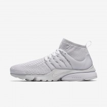 Chaussure Nike Air Presto Ultra Flyknit Pour Homme Lifestyle Blanc/Blanc/Cramoisi Total/Blanc_NO. 835570-100