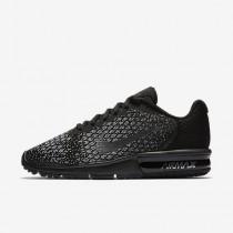 Chaussure Nike Air Max Sequent 2 Pour Femme Lifestyle Noir/Gris Foncé/Gris Loup/Hématite Métallique_NO. 852465-010