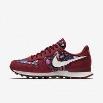 Chaussure Nike Internationalist Premium Pour Femme Lifestyle Rouge Équipe/Rouge Équipe/Voile_NO. 828404-601