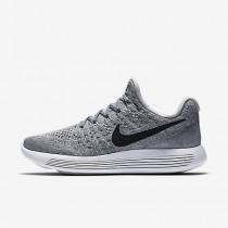 Chaussure Nike Lunarepic Low Flyknit 2 Pour Femme Running Gris Loup/Gris Froid/Platine Pur/Noir_NO. 863780-002
