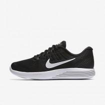 Chaussure Nike Lunarglide 8 Pour Femme Running Noir/Anthracite/Blanc_NO. 843726-001