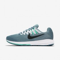 Chaussure Nike Air Zoom Structure 20 Pour Femme Running Bleu Fumeux/Blanc/Hyper Turquoise/Noir_NO. 849577-004