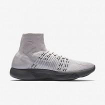 Chaussure Nike Lunarepic Flyknit Pour Femme Running Rose Perle/Gris Foncé/Voile/Platine Pur_NO. 831112-600