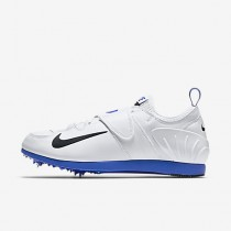 Chaussure Nike Zoom Pole Vault Ii Pour Femme Running Blanc/Bleu Coureur/Noir_NO. 317404-100