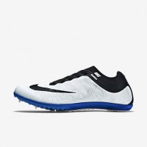 check out 0419b e5553 Chaussure Nike Zoom Mamba 3 Pour Femme Running Blanc Bleu Coureur Noir NO.  706617