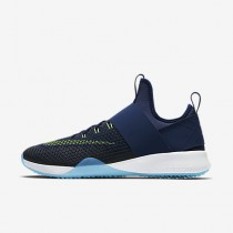 Chaussure Nike Air Zoom Strong Pour Femme Fitness Et Training Bleu Binaire/Bleu Rayonnant/Blanc/Vert Ombre_NO. 843975-403