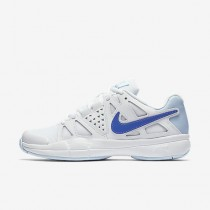 Chaussure Nike Court Air Vapor Advantage Pour Femme Tennis Blanc/Bleu Glacé/Bleu Comète_NO. 599364-109