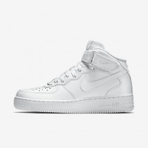 Chaussure Nike Air Force 1 Mid 07 Pour Homme Lifestyle Blanc/Blanc_NO. 315123-111