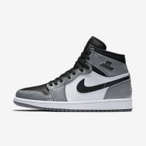 Chaussure Nike Air Jordan I Retro High Pour Homme Lifestyle Gris Froid/Blanc/Noir_NO. 332550-024