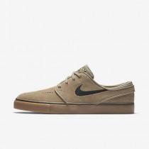 Chaussure Nike Sb Zoom Stefan Janoski Pour Homme Lifestyle Kaki/Gomme Marron Clair/Noir_NO. 333824-212