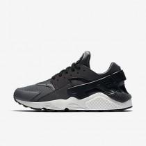 Chaussure Nike Air Huarache Premium Pour Homme Lifestyle Gris Foncé/Noir/Platine Pur/Noir_NO. 704830-007