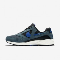 Chaussure Nike Air Icarus Extra Qs Pour Homme Lifestyle Jade Glacé/Noir/Voile/Bleu Coureur_NO. 882019-300