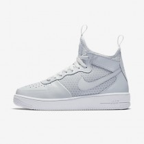 Chaussure Nike Air Force 1 Ultraforce Mid Pour Homme Lifestyle Platine Pur/Blanc/Platine Pur/Platine Pur_NO. 864014-002