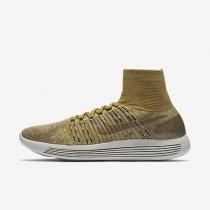 Chaussure Nike Lab Lunarepic Flyknit Pour Homme Running Beige Doré/Or Minéral/Champignon Foncé/Noir_NO. 831111-200