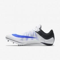 Chaussure Nike Zoom Ja Fly 2 Pour Homme Running Blanc/Noir/Bleu Coureur_NO. 705373-100
