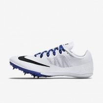 Chaussure Nike Zoom Rival S 8 Pour Homme Running Blanc/Bleu Coureur/Noir_NO. 806554-100