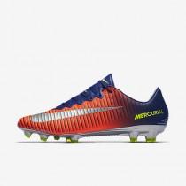 Chaussure Nike Mercurial Vapor Xi Fg Pour Homme Football Bleu Royal Profond/Cramoisi Total/Zeste D'Agrumes/Chrome_NO. 831958-408
