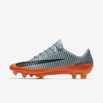 Chaussure Nike Mercurial Vapor Xi Cr7 Fg Pour Homme Football Gris Froid/Gris Loup/Cramoisi Total/Hématite Métallique_NO. 852514-001