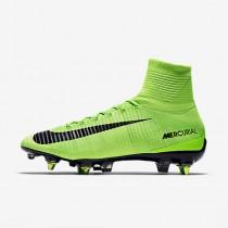 Chaussure Nike Mercurial Superfly V Dynamic Fit Sg-Pro Anti-Clog Pour Homme Football Vert Électrique/Vert Ombre/Blanc/Noir_NO. 889286-303