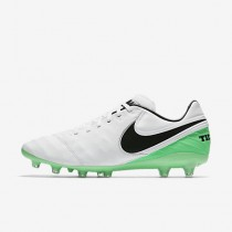 Chaussure Nike Tiempo Legacy Ii Ag-Pro Pour Homme Football Blanc/Vert Electro/Noir_NO. 844397-103