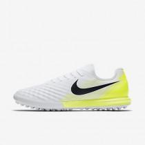 Chaussure Nike Magistax Finale Ii Tf Pour Homme Football Blanc/Volt/Noir_NO. 844446-107
