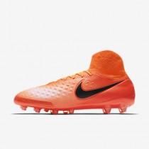 Chaussure Nike Magista Orden Ii Ag-Pro Pour Homme Football Cramoisi Total/Rouge Université/Mangue Brillant/Noir_NO. 843811-806
