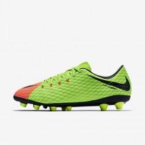 Chaussure Nike Hypervenom Phelon 3 Ag-Pro Pour Homme Football Vert Électrique/Hyper Orange/Volt/Noir_NO. 852559-308