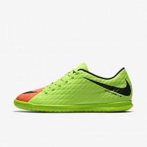 Chaussure Nike Hypervenomx Phade 3 Ic Pour Homme Football Vert Électrique/Hyper Orange/Volt/Noir_NO. 852543-308